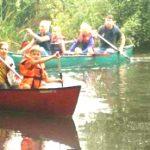 Der Lions Club Wedemark paddelt auf der Örtze