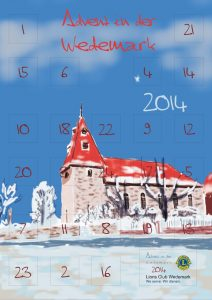 Lions Club Wedemark Adventskalender 2014