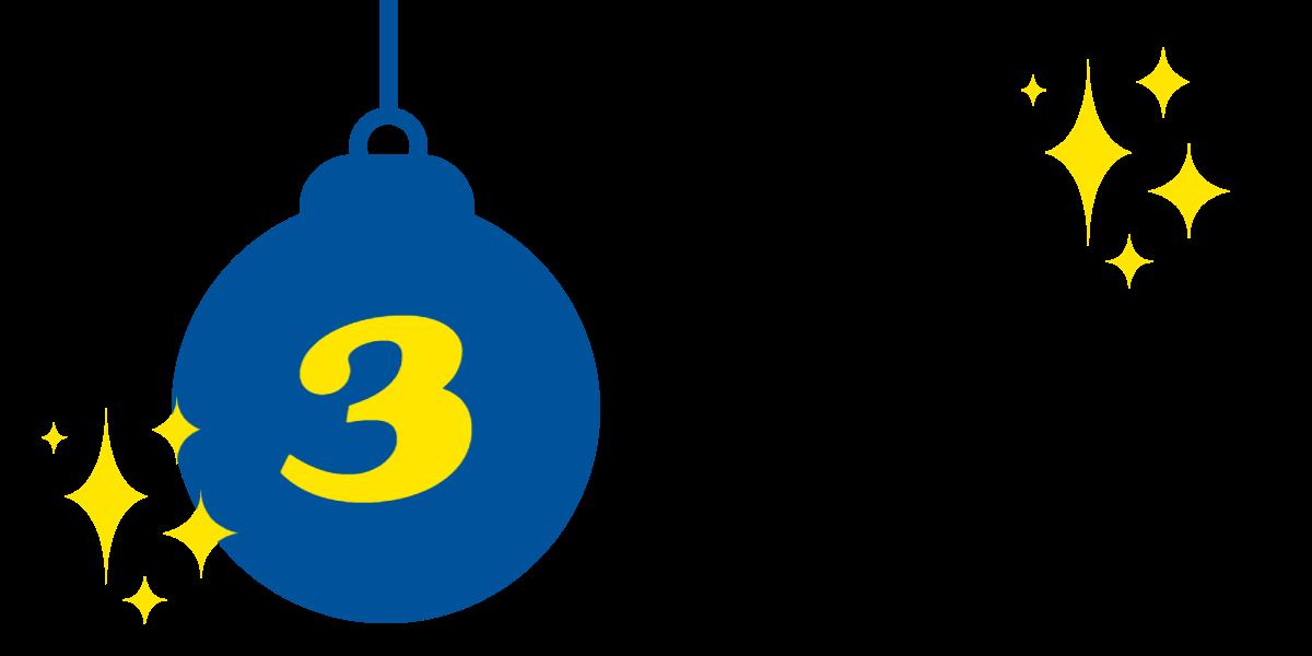 03. Dezember: Gewinnnummern