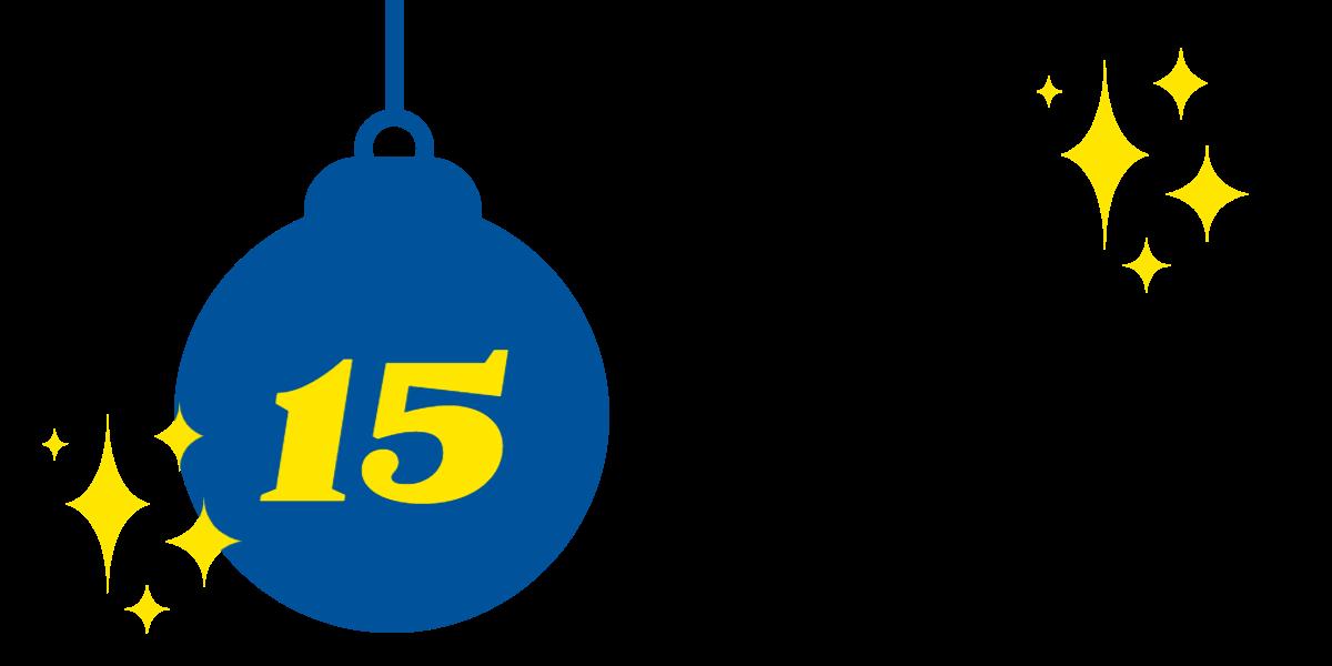 15. Dezember: Gewinnnummern