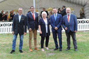 Der Vorstand: Uwe Kempen, Karsten H. F. Weste, Gisela Küch, Axel Keller, Dieter Müller